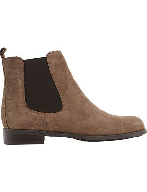 DUNE Parry suede Chelsea boots