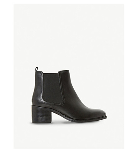 DUNE Paramoor leather Chelsea boots (Black-leather