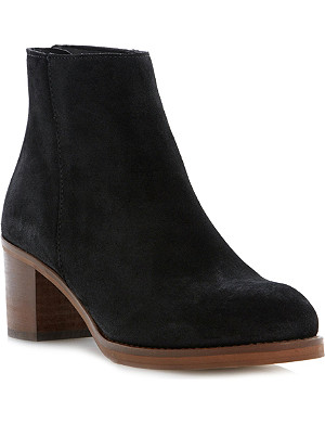 DUNE Packer suede ankle boots