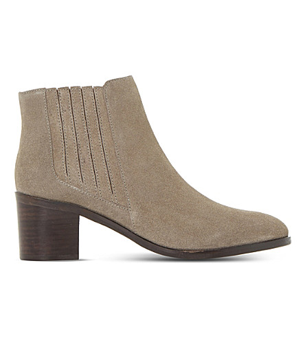 DUNE Peter suede ankle boots (Taupe-suede