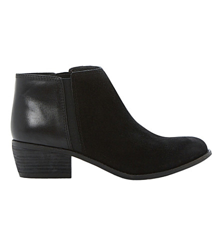 DUNE Penelope ankle boots (Black-suede
