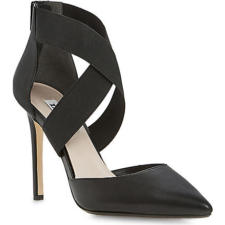DUNE Demie cross-over court shoes (Black-leather
