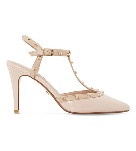 DUNE Catelyn patent studded courts (Nude-patent