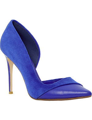 DUNE Clarisa semi d'orsay court shoes