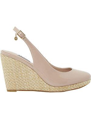 DUNE Cecille espadrille wedge sandals