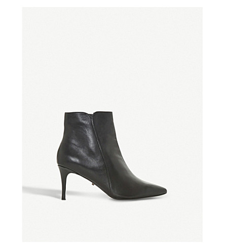 DUNE Onest leather ankle boots (Black-leather