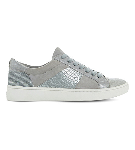 DUNE Egypt leather trainers (Pale+grey