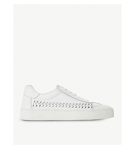 detail trainers Elurru woven DUNE leather White DUNE leather Elurru wIxqpYEFE