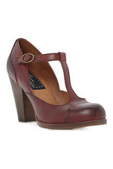 BERTIE Anja leather Mary Jane courts