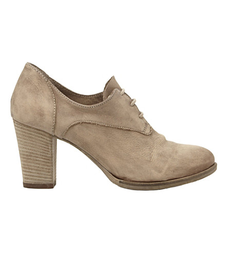 BERTIE Anabella leather shoe boots (Taupe-leather
