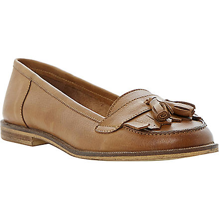BERTIE Lako tan tassel loafters (Tan-leather