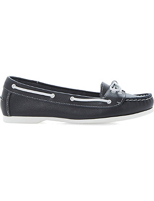 BERTIE Lester leather boat shoes