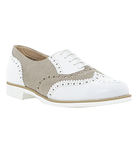 BERTIE Lilirose lace up brogues (White-leather