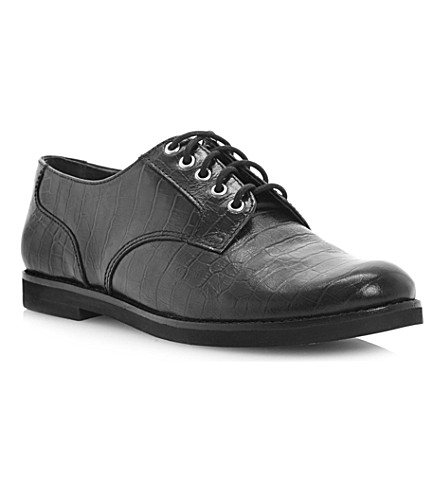 BERTIE Lotto leather brogues (Black-leather