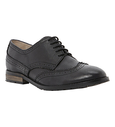 BERTIE Loranda leather brogues (Black-leather