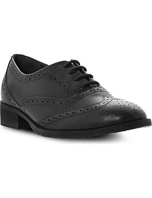 BERTIE Luka leather lace-up brogues