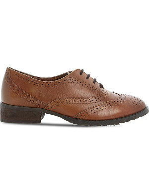 BERTIE Luka leather lace up brogues