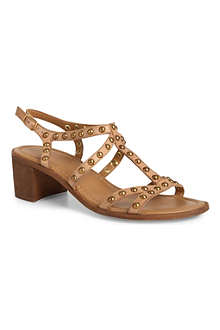 BERTIE Hoosar leather gladiator sandals