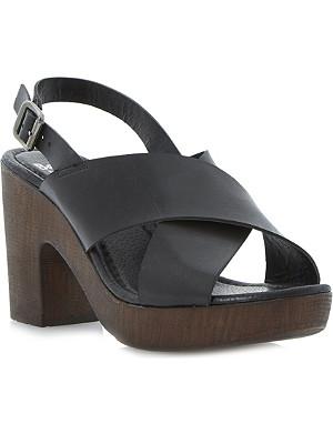 BERTIE Heeley slingback platform sandals
