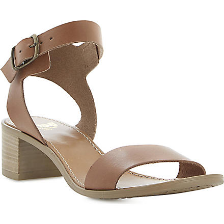 BERTIE Hobart leather sandals (Tan-leather