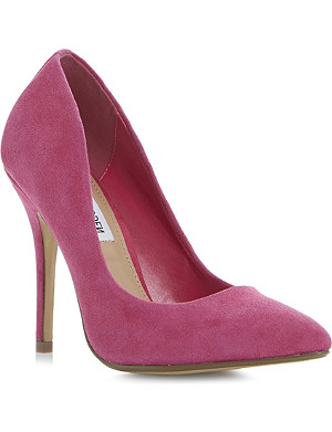 STEVE MADDEN Galleryy SM pointed-toe heeled court shoes