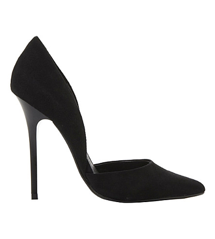 STEVE MADDEN Varcitty suede d'orsay courts (Black suede