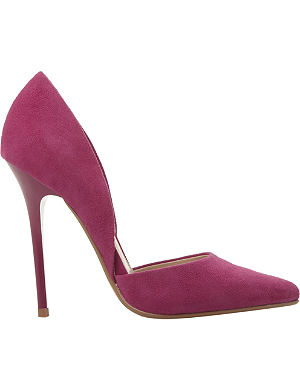 STEVE MADDEN Varcitty pointed-toe court shoes