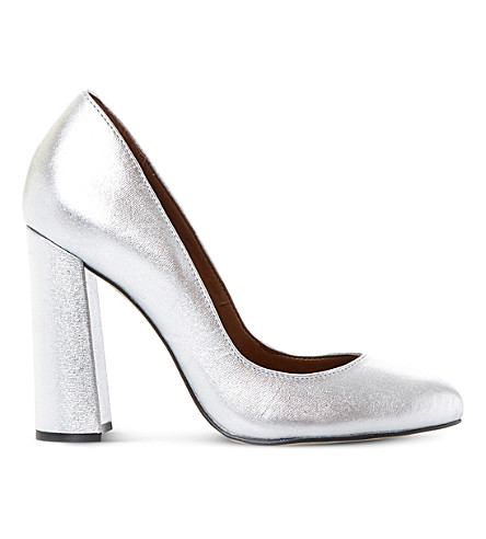 STEVE MADDEN Spectur metallic courts (Silver-synthetic