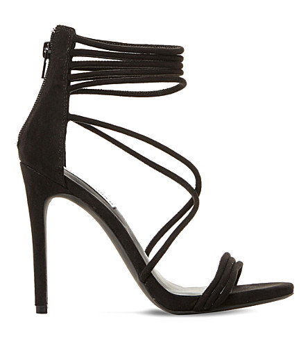STEVE MADDEN Answer sm suede sandals (Black-suede