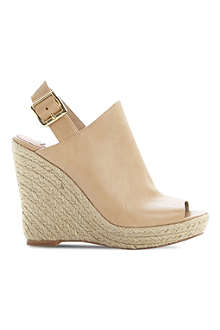 STEVE MADDEN Corizon high vamp espadrille wedges