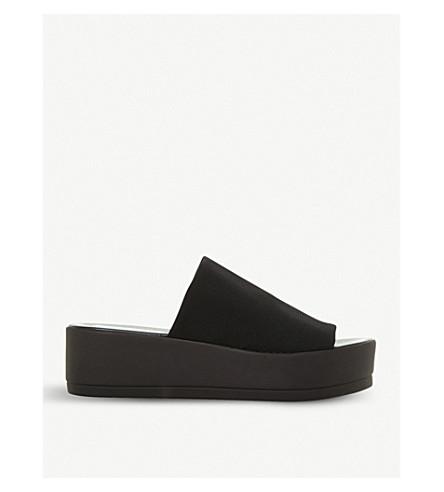 STEVE MADDEN Slinky flatform sandals (Black