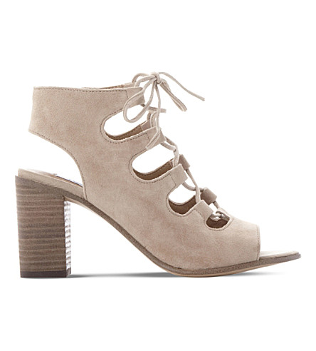 STEVE MADDEN Nilunda suede heeled sandals (Sand-suede