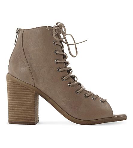b8fd9757b64 STEVE MADDEN - Tempting peep-toe ankle boots