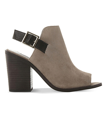 STEVE MADDEN Tallen suede shoe boots (Grey-suede