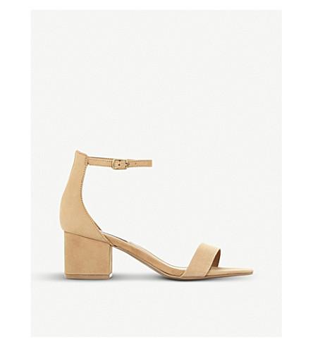 STEVE MADDEN Irenee suede heeled sandals (Tan-nubuck