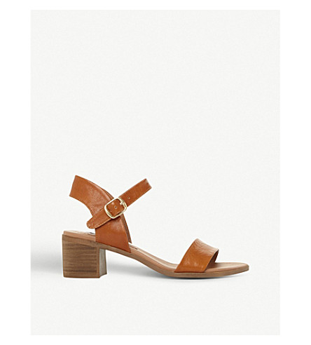 Sandalias de MADDEN de de claro marrón abril tacón cuero medio Correa STEVE Cuero x6wYqOSY