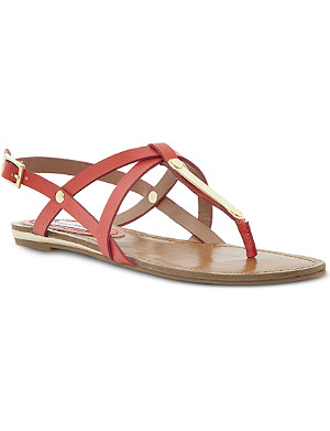 STEVE MADDEN Henna strappy toe post sandals