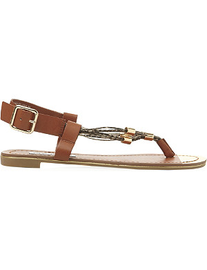 STEVE MADDEN Chain toe post sandal