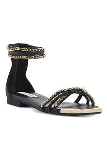 STEVE MADDEN Lawal chain-detail sandals