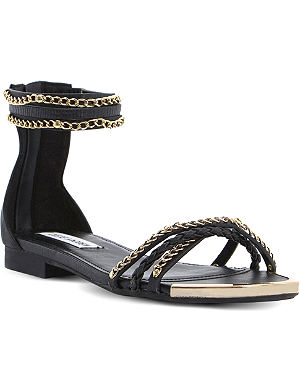 STEVE MADDEN Lawal chain-detail sandals