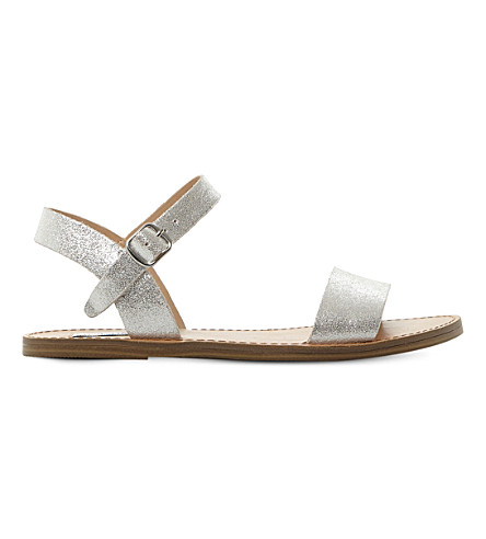 STEVE MADDEN Kondi two-part sandals (Silver-leather