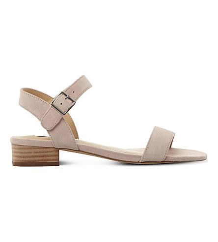 STEVE MADDEN Cache suede sandals (Pink-suede