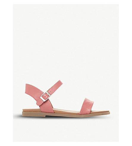 STEVE MADDEN 迪娜二部分凉鞋 (粉红色皮革