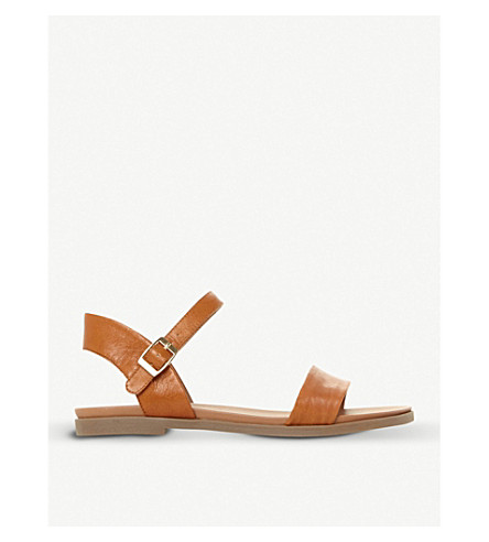 STEVE MADDEN Dina two-part sandals (Tan-leather