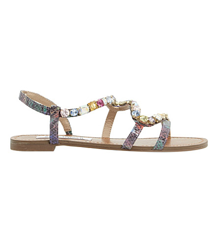 345a1c62d3de STEVE MADDEN - Blazzzed jewelled strappy sandals