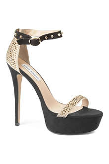 STEVE MADDEN Reality studded platform sandals