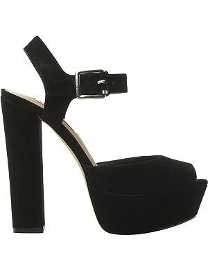 STEVE MADDEN Jillyy platform suede sandals