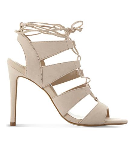 STEVE MADDEN Sandalia nubuck heeled sandals (Natural-nubuck