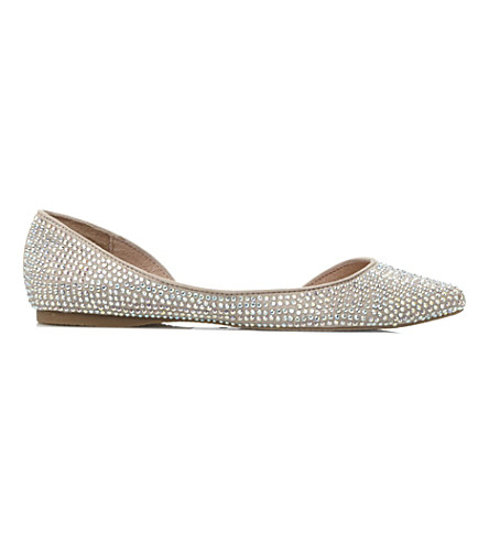STEVE MADDEN Elizza flats (Champagne-synthetic