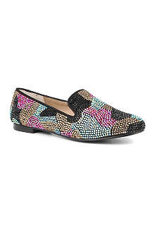 STEVE MADDEN Conncord embellished loafers